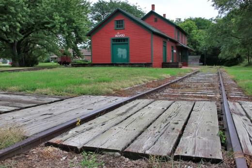 Wahoo Burlington Depot, Wahoo, NE