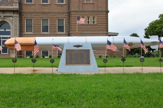 WW II Submarine Wahoo memorial, Wahoo, NE