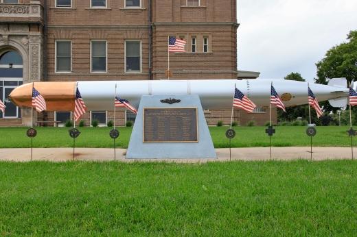 WW II Submarine Wahoo memorial, Wahoo, NE