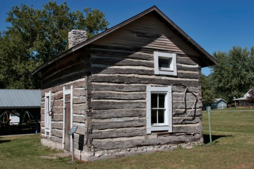 Log Cabin, Selma, Iowa