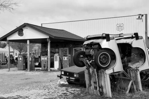 Historic Route 66 Tourist Infomation Center, Staunton, Illinois