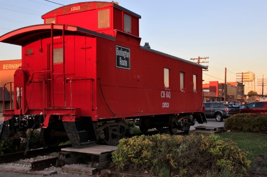 Burlington Route Caboose, Creston, Iowa