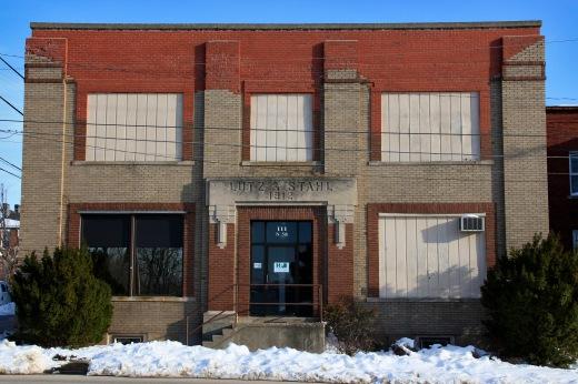 Lutz & Stahl printers building, Keokuk, Iowa