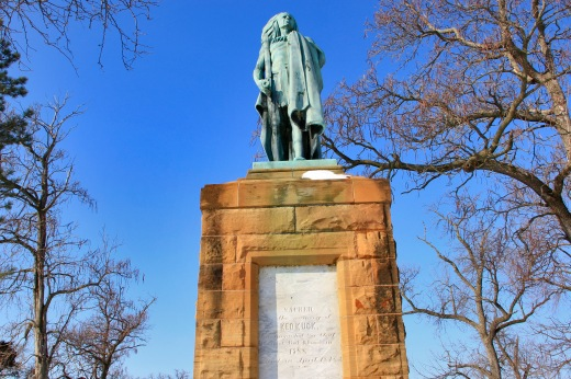 Chief Keokuk statue, Keokuk, Iowa