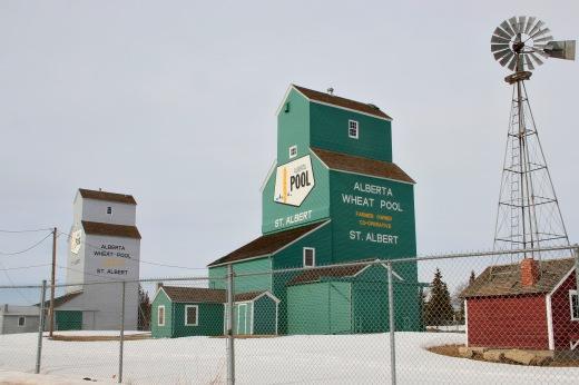St. Albert Grain Elevator Park, St. Albert, Alberta