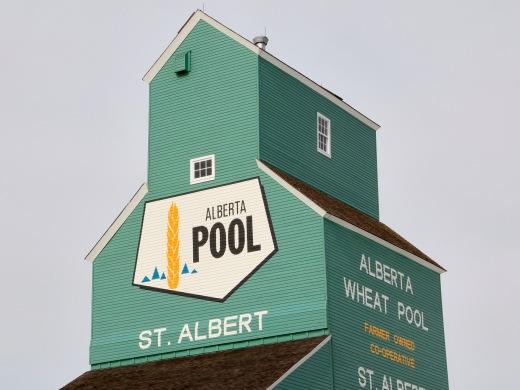 Grain Elevator, St. Albert, Alberta